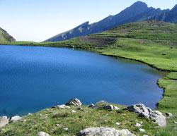 Lac d'Anglas entre Gabas et Gourette sur le GR10